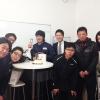 整備士の松山君の誕生日会を行いました。