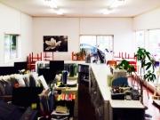 ショールーム兼事務所のプチ大掃除をしました。