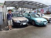福島県からのボルボV70R→XC70へと乗換のお客様