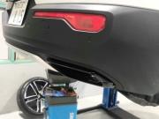 ボルボXC40のマフラー&キャリパー塗装カスタマイズ