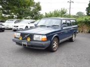 ボルボ240ワゴン中古部品の部品取り車両入庫情報です。
