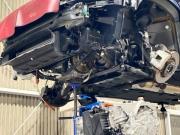 ボルボに搭載されているゲトラグ製DCT(デュアルクラッチトランスミッション)の修理対応。