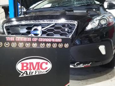 BMC製 エアフィルター交換作業